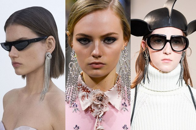TRINKETS From left to right: Jacquemus, Loewe, Stella McCartney
