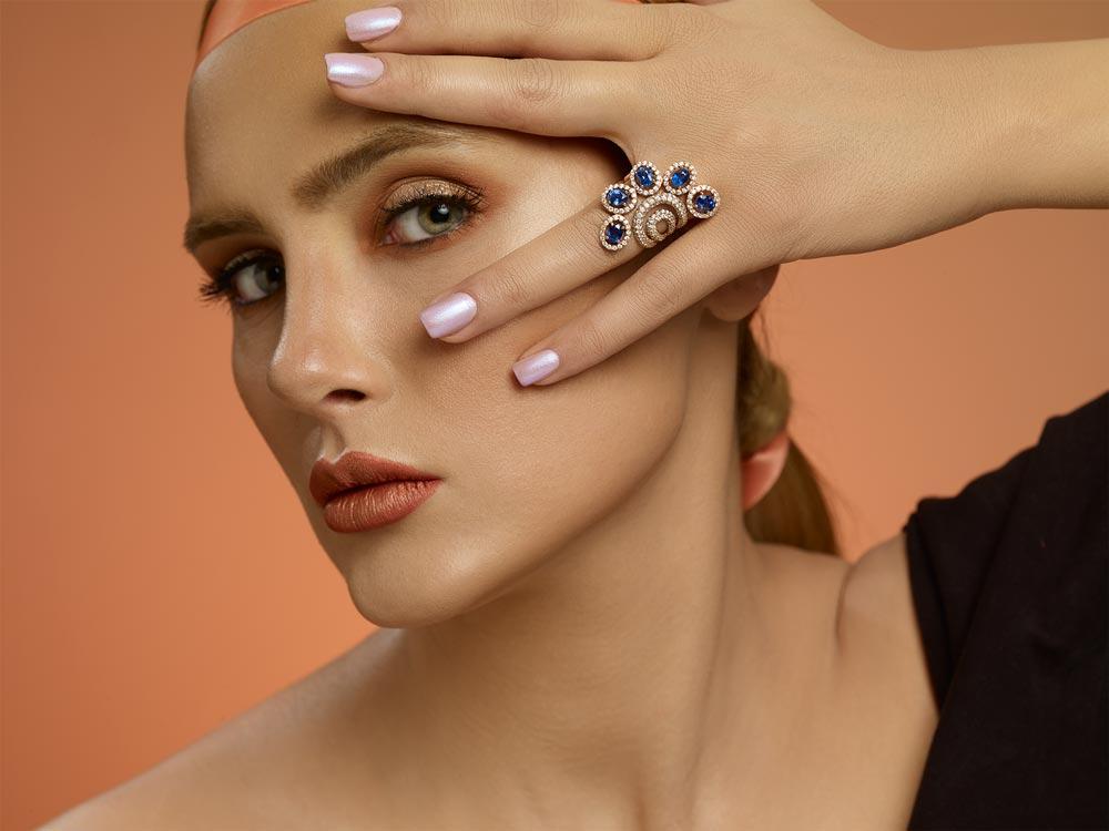 High jewelry ring goharbin
