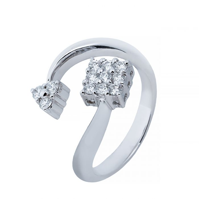 انگشتری برليان 66894 A گوهربين goharbin