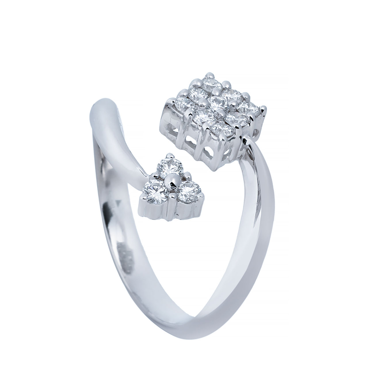 انگشتری برليان 66894 C گوهربين goharbin