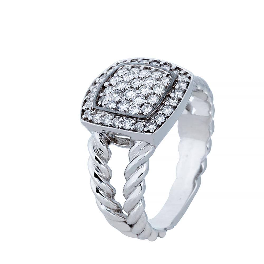 انگشتری برليان 74338 A گوهربين goharbin