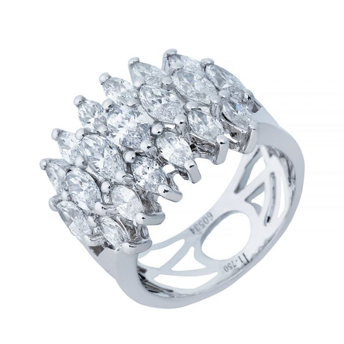 انگشتری برليان 60534 A گوهربين goharbin