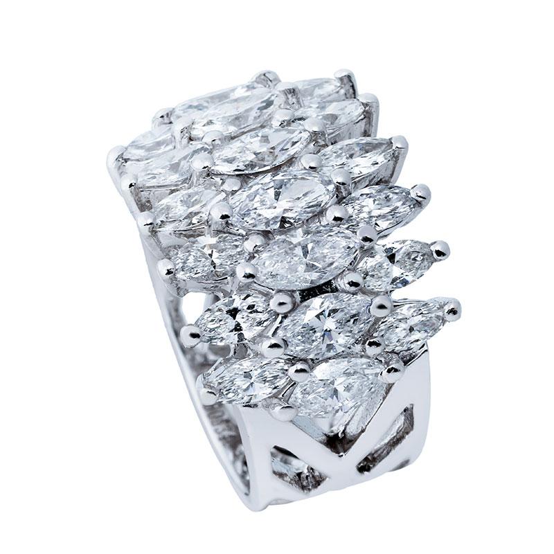 انگشتری برليان 60534 C گوهربين goharbin