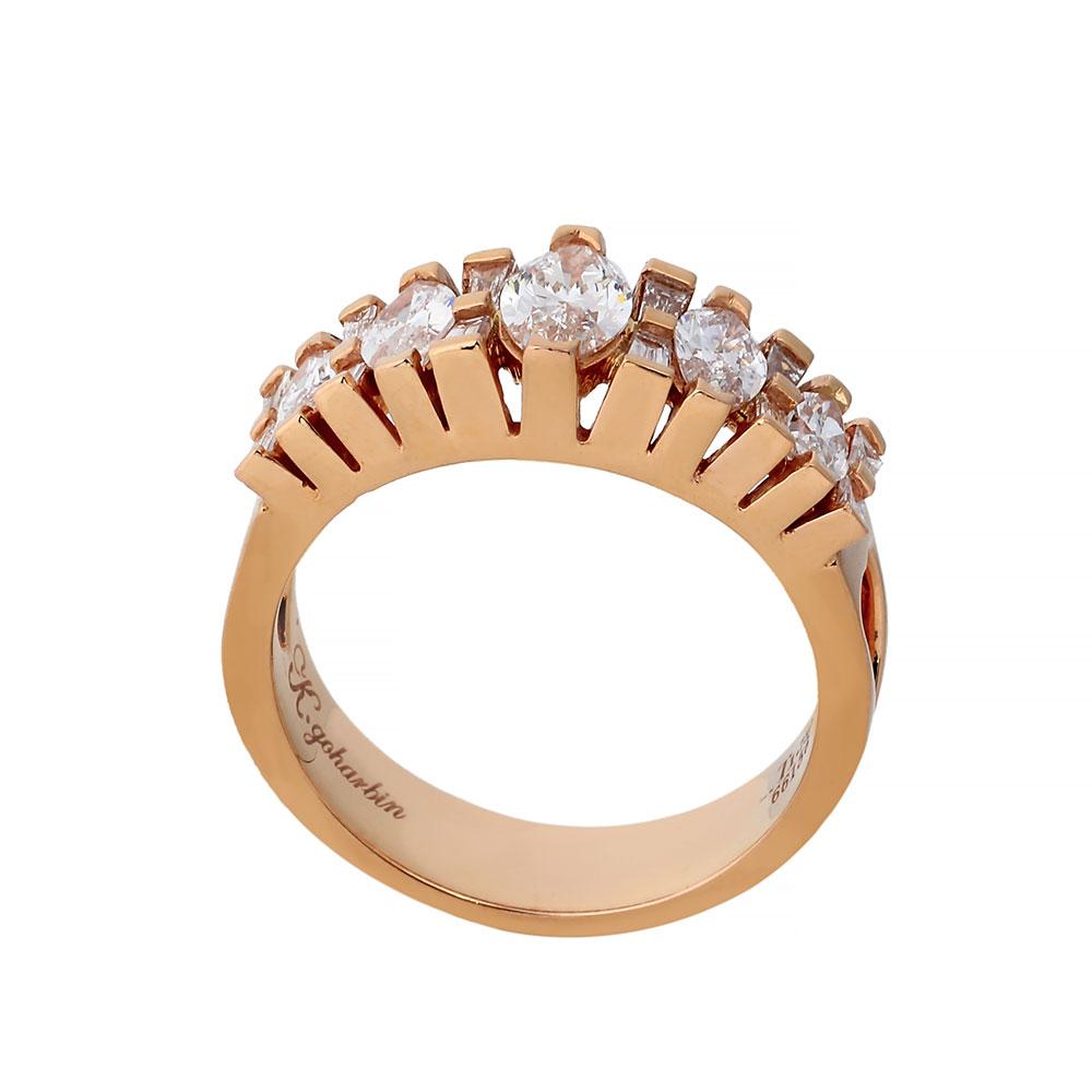 حلقه برليان 66156 C گوهربين goharbin