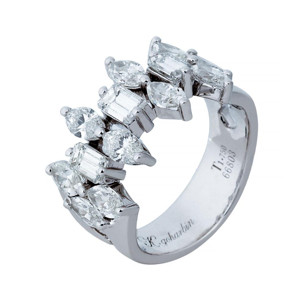 حلقه برليان 66803 A گوهربين goharbin