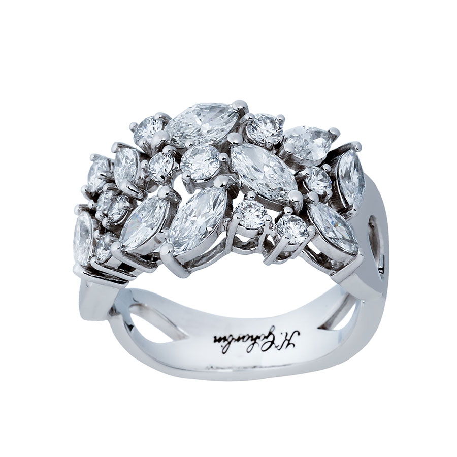 حلقه برليان 75623 C گوهربين goharbin