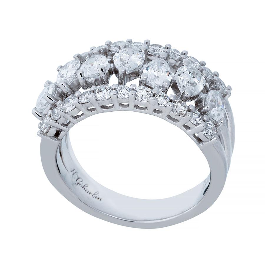 حلقه برليان 76830 C گوهربين goharbin