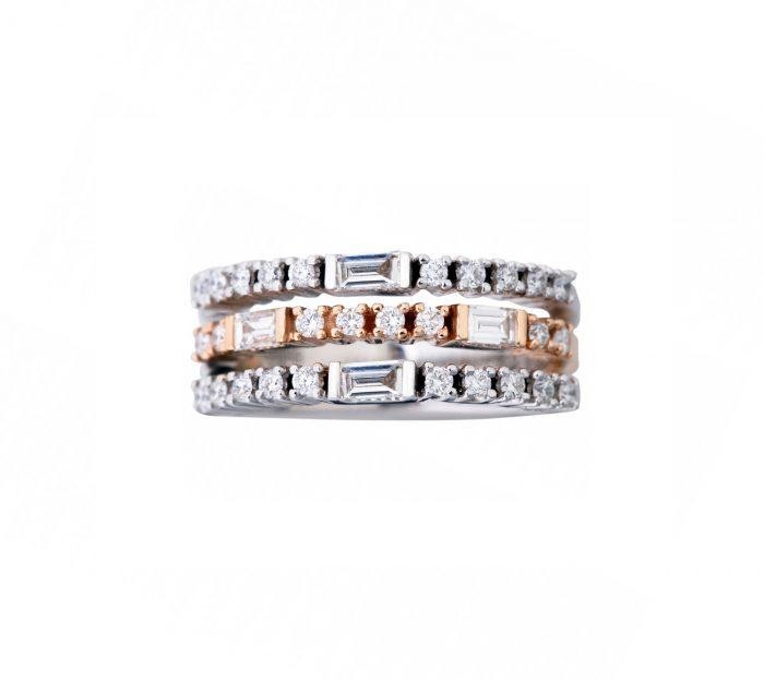 Bicoloured brilliant rings-Goharbin-Goharbin