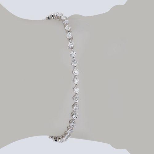 دستبند برليان 70557 B گوهربين goharbin