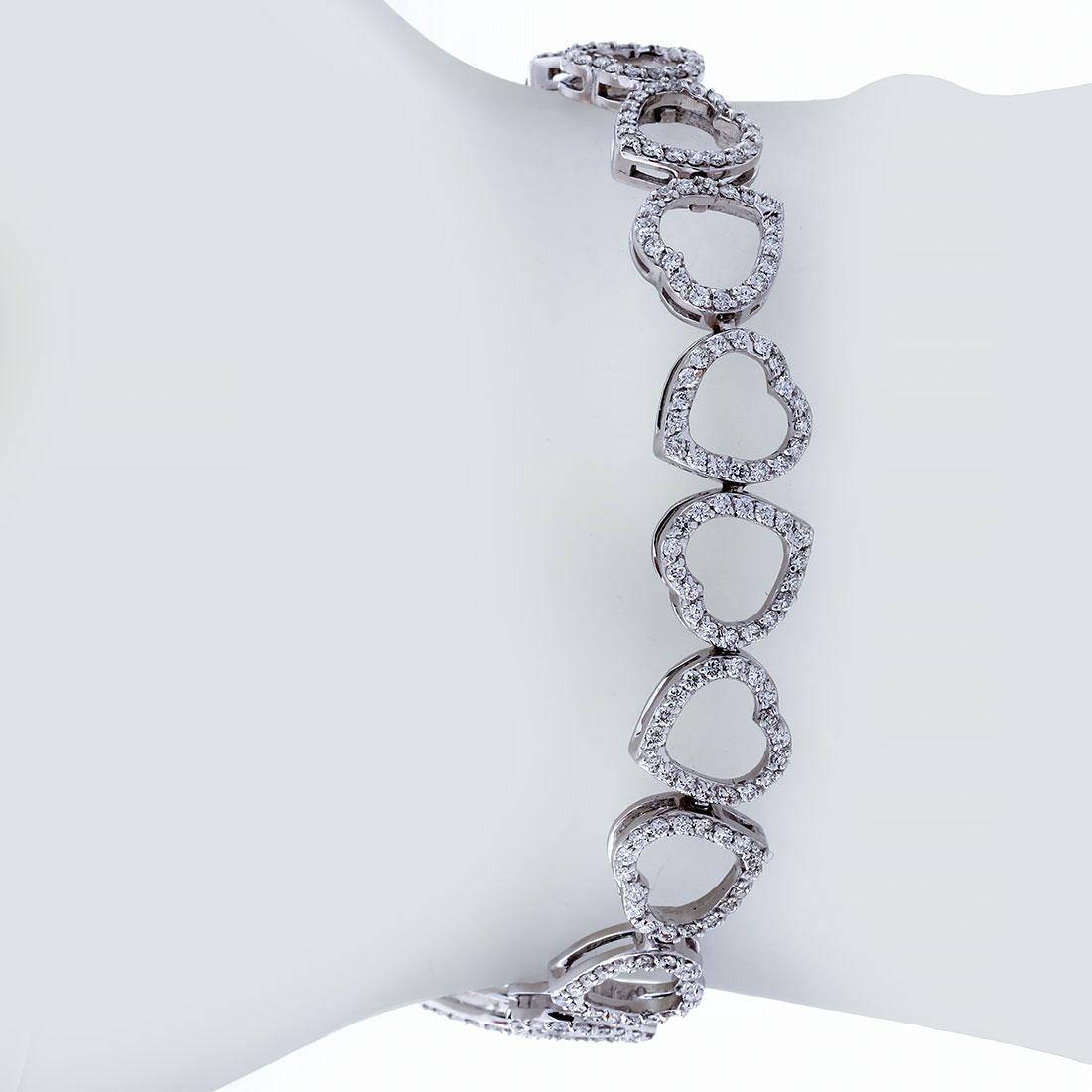 دستبند برليان 73091 C گوهربين goharbin