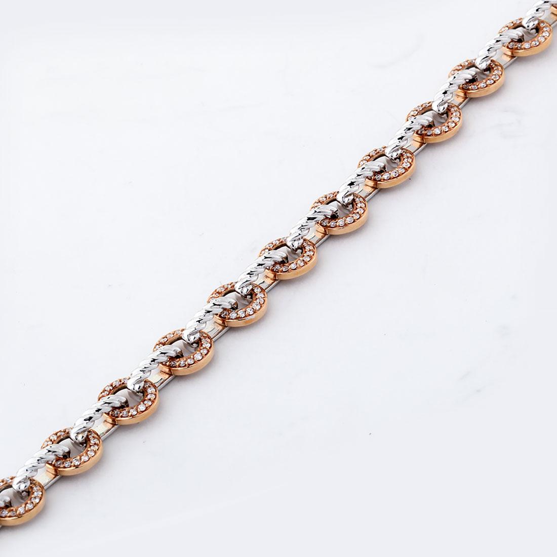 دستبند برليان 73283 B گوهربين goharbin