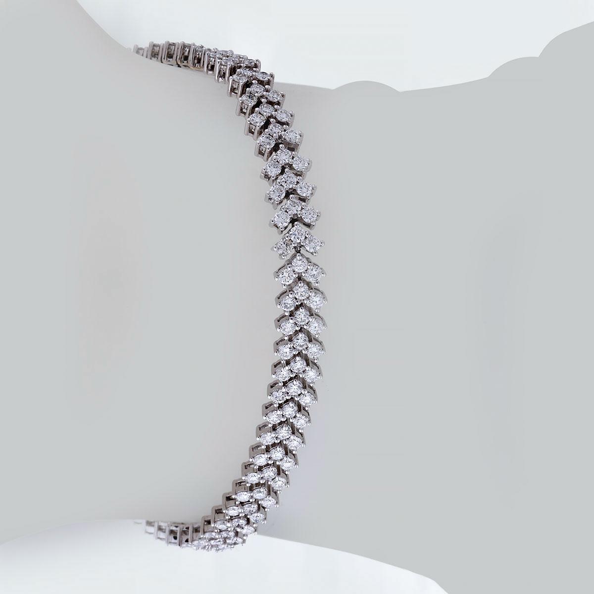 دستبند برليان 74662 C گوهربين goharbin