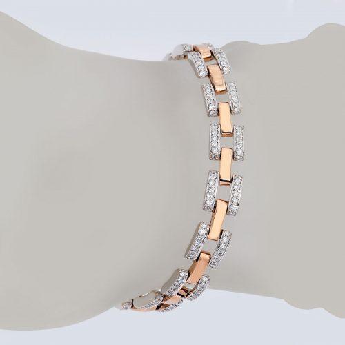 دستبند برليان 75508 B گوهربين goharbin