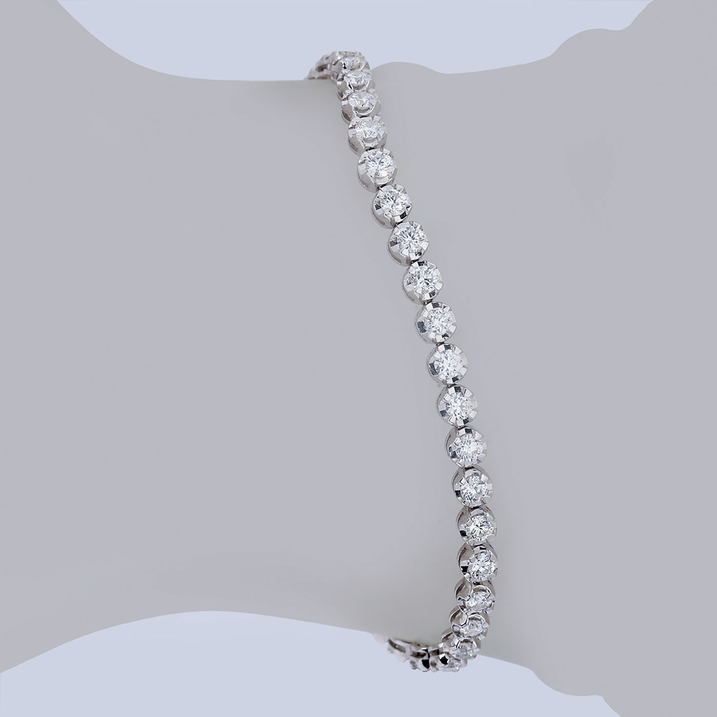 دستبند برليان 76874 B گوهربين goharbin