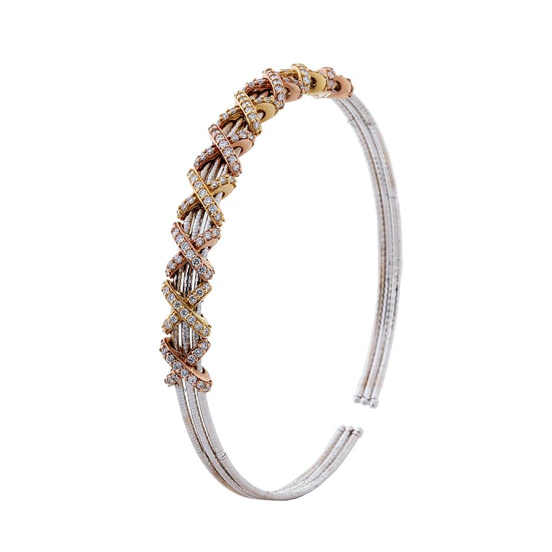 دستبند برليان 78757 A گوهربين goharbin