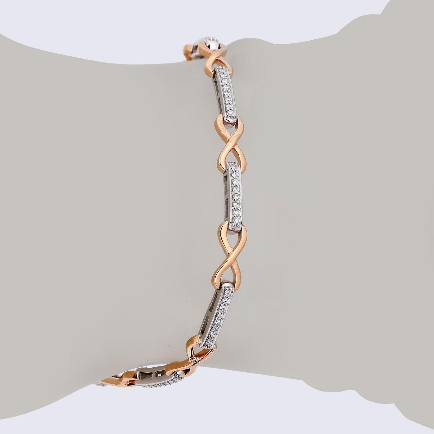 دستبند برليان 79456 B گوهربين goharbin