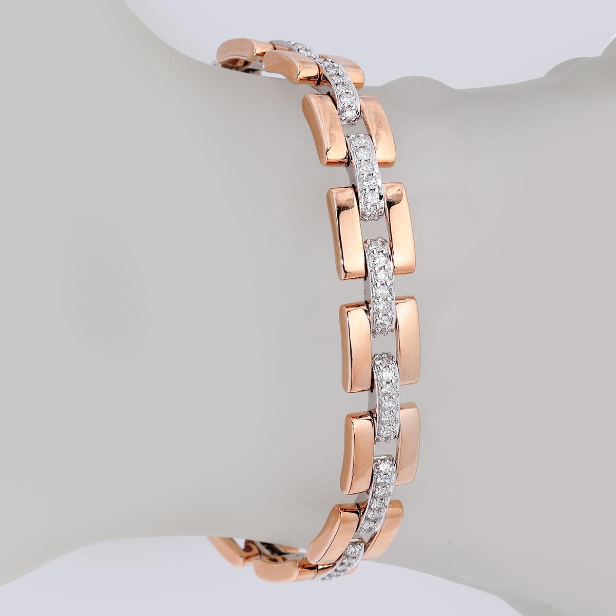 دستبند برليان 80180 B گوهربين goharbin
