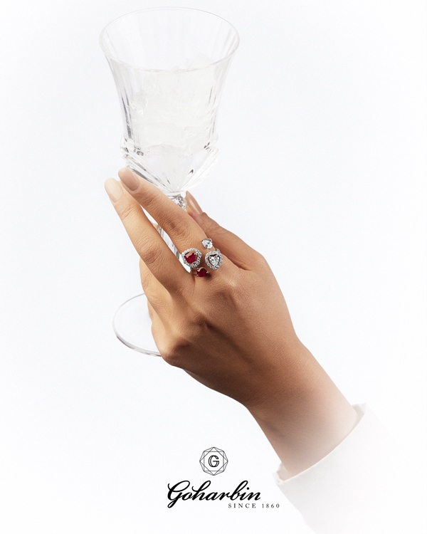 Goharbin Jewelry Ruby Ring 76773