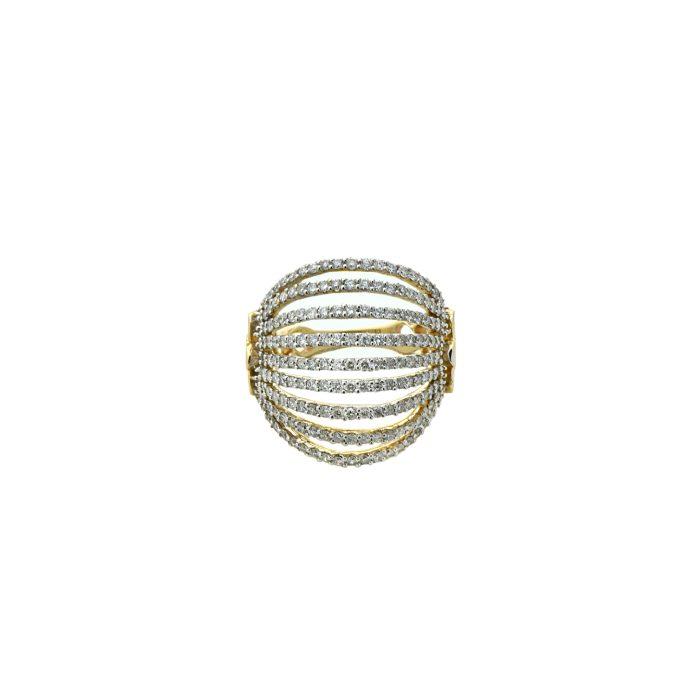 Goharbin fan design Diamond ring