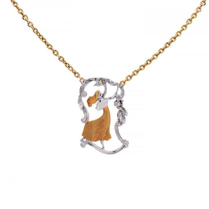 Angle_brilliant_gold_medal_Goharbin-jewelry-مدال-گوهربین