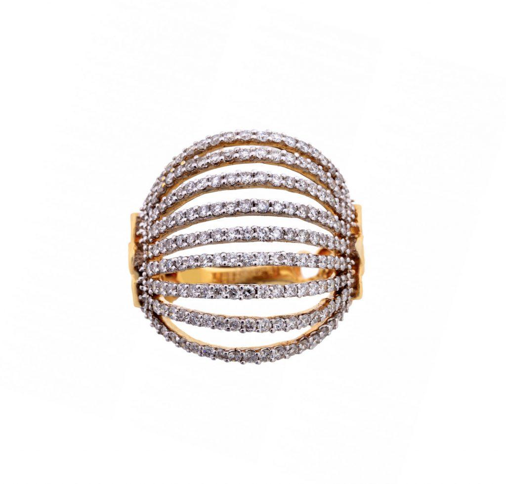 Fan Brilliant Ring
