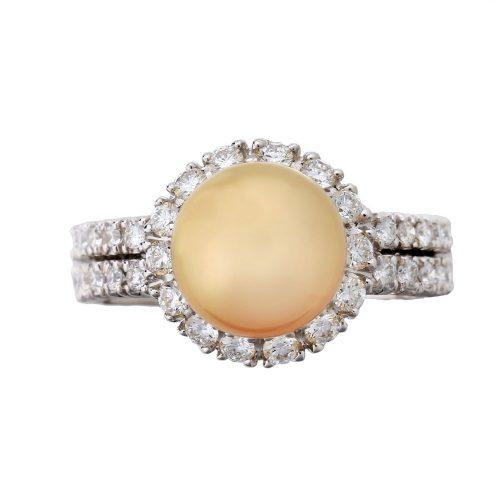 Golden Pearl Goharbin's Ring