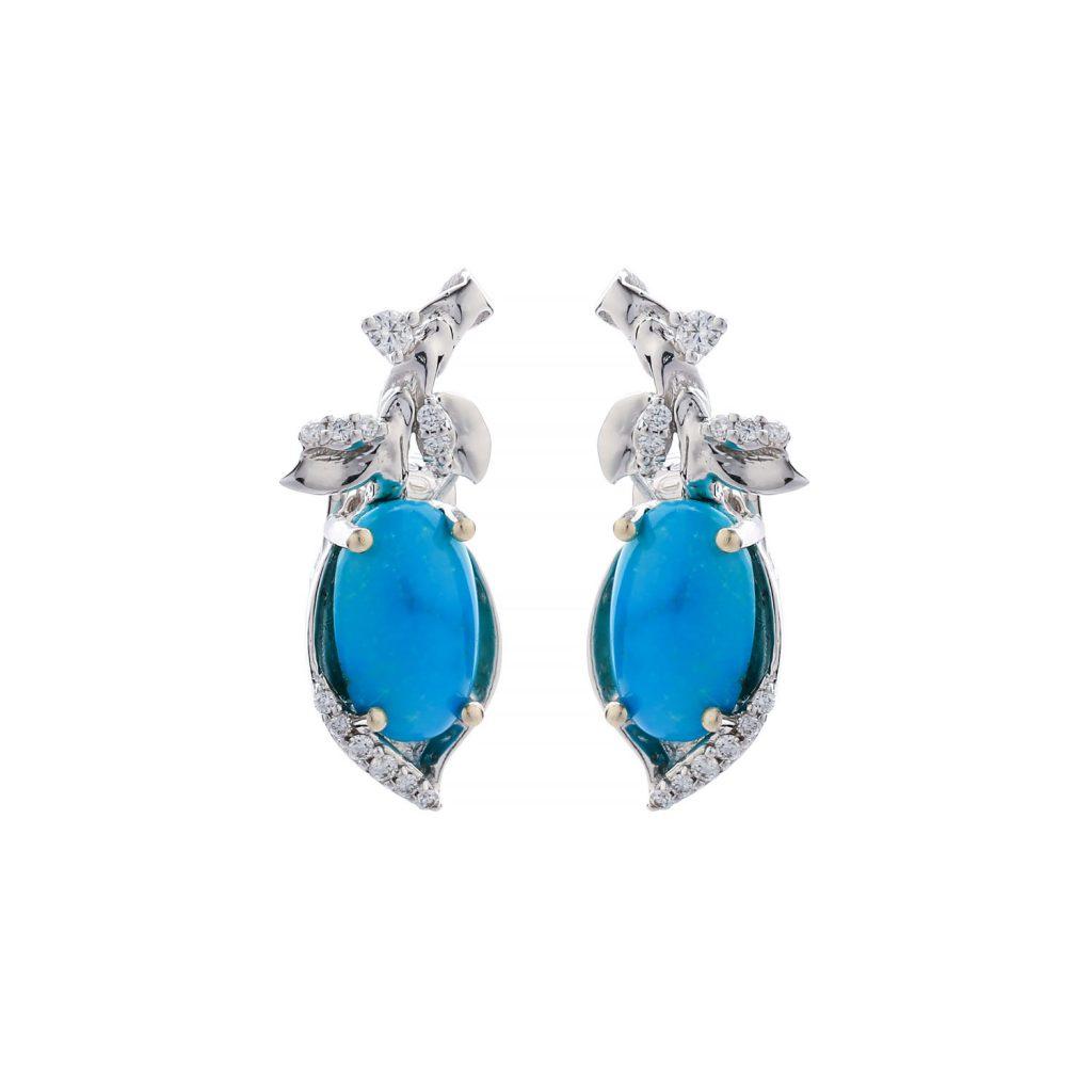 Turquoise_brilliant_Goharbin_earing-Goharbin-Jewerly