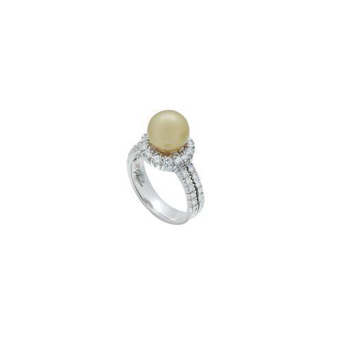 Goharbin's Golden Pearl ring