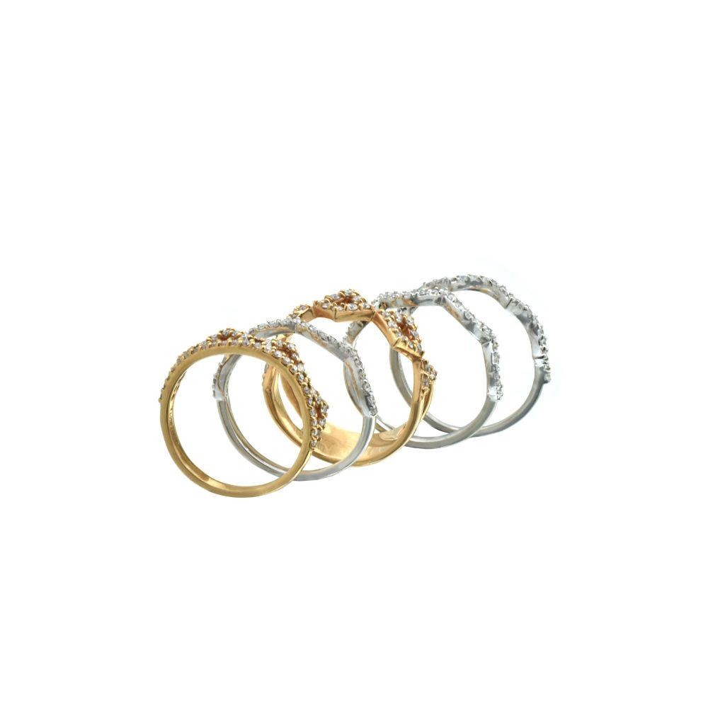 Multi-piece diamond ring2