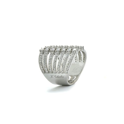 Grooved diamond ring2