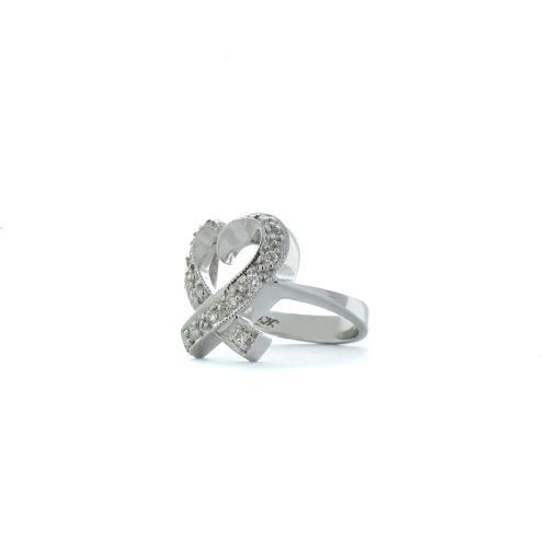 Heart design diamond ring2