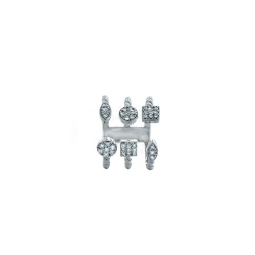 Goharbin diamond half ring2
