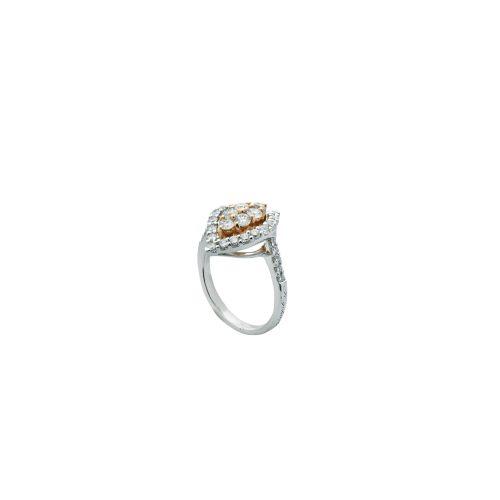 Goharbin Diamond ring leaf design2