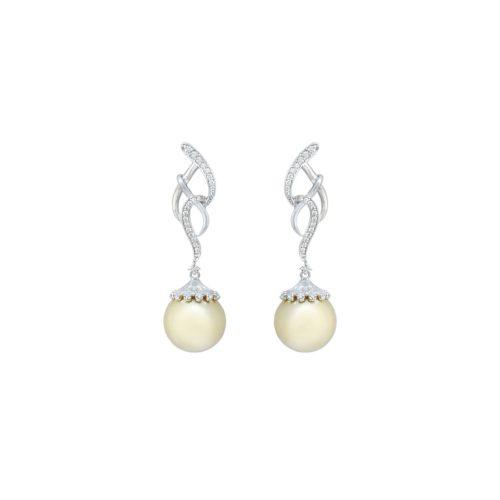 Goharbin Golden Pearl Earrings