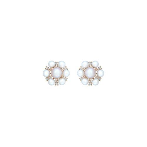 Goharbin Sun design pearl earrings