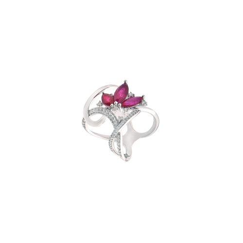 Goharbin Ruby marquis ring