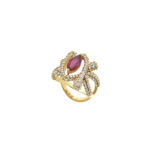 Goharbin Ruby brilliant rings2