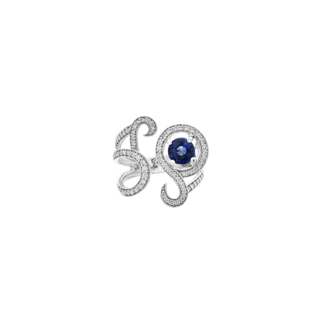 Goharbin Sapphire ring